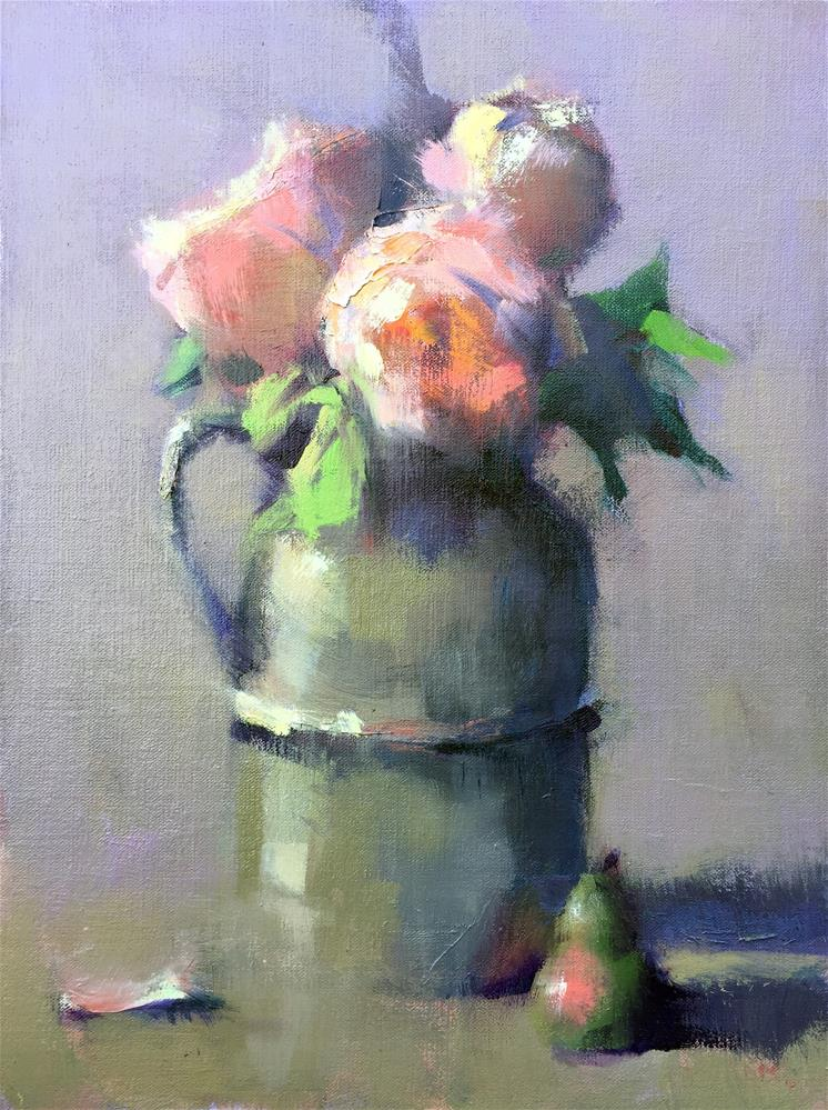 """Pewter Jug"" original fine art by Trisha Adams"