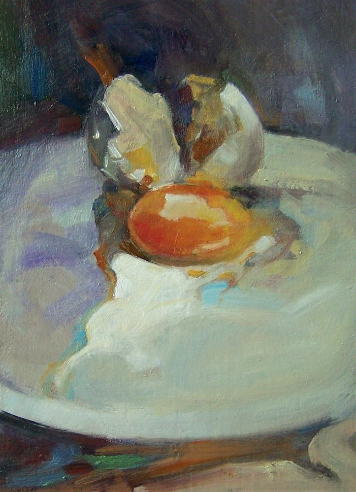 """The Egg"" original fine art by Kim Roberti"
