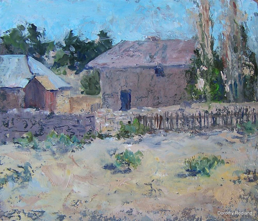 """Country place"" original fine art by Dorothy Redland"