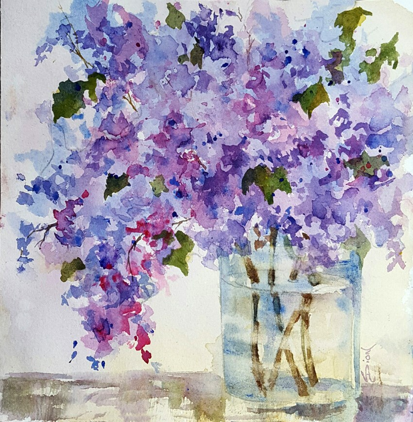 """Simply Summer"" original fine art by Sue Dion"