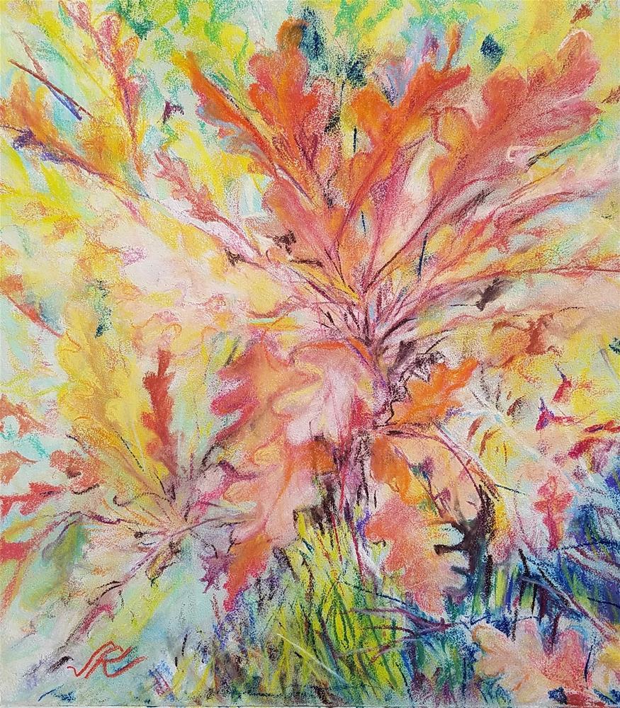 """""""Scrub Oak"""" original fine art by Jean Krueger"""