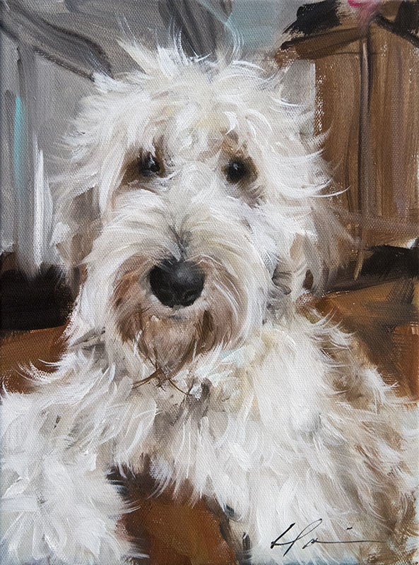 """Dakota"" original fine art by Clair Hartmann"