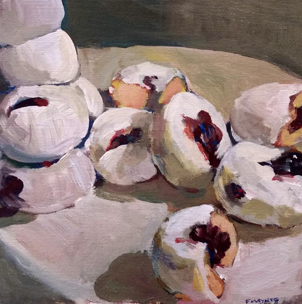 """Donuts "" original fine art by Liz Maynes"