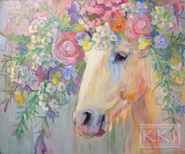 """Camargue Peace"" original fine art by Kimberly Santini"