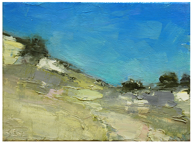 """Colorado: foothills"" original fine art by Steven Goodman"