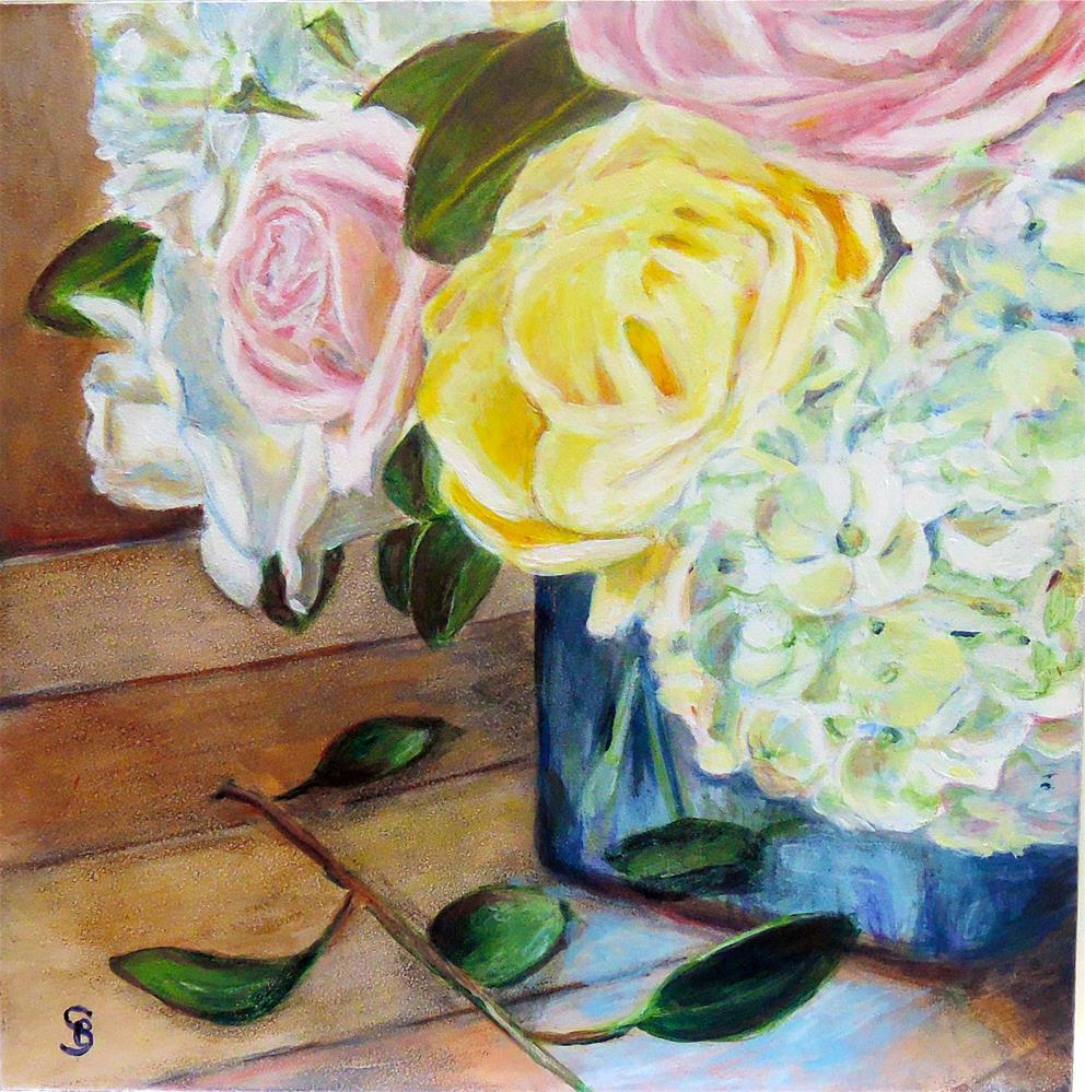 """Daughter's Gift"" original fine art by Belinda Scheber"