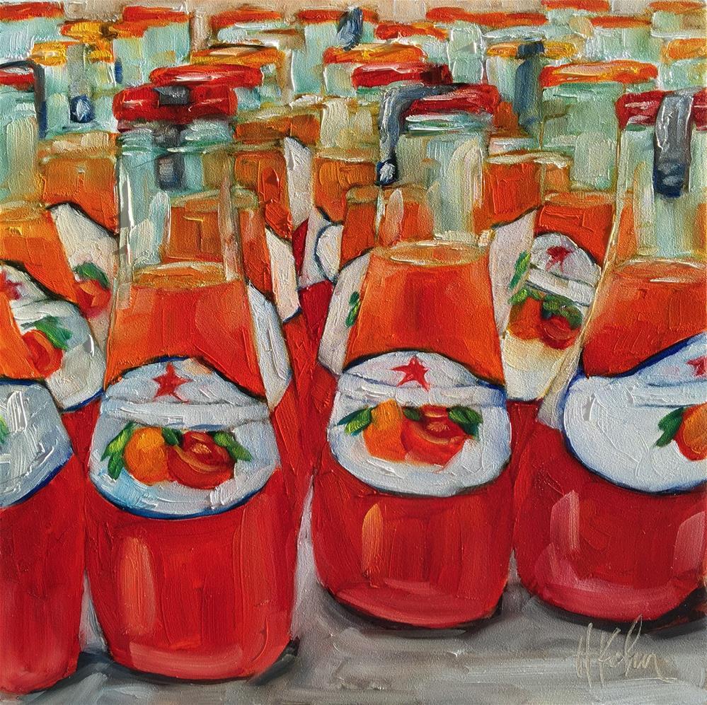 """San Pellegrino"" original fine art by Hallie Kohn"