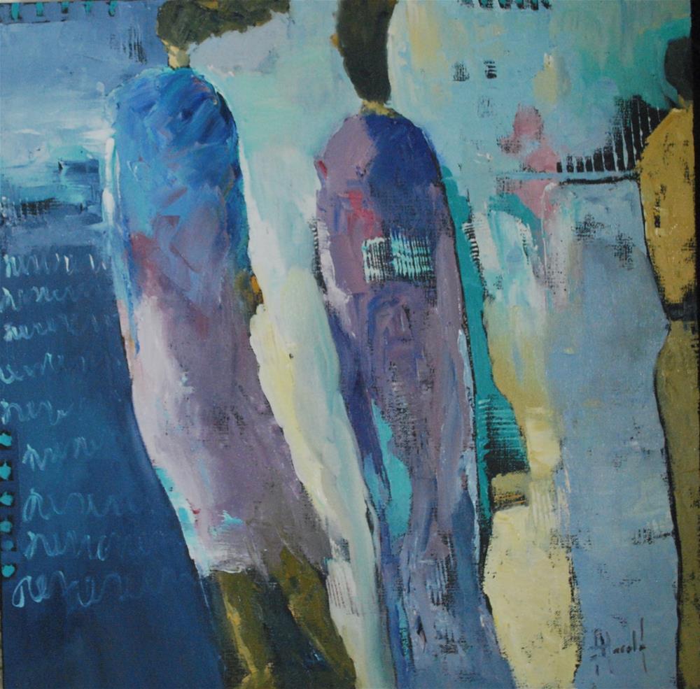 """Arrival Gate"" original fine art by Deborah Harold"