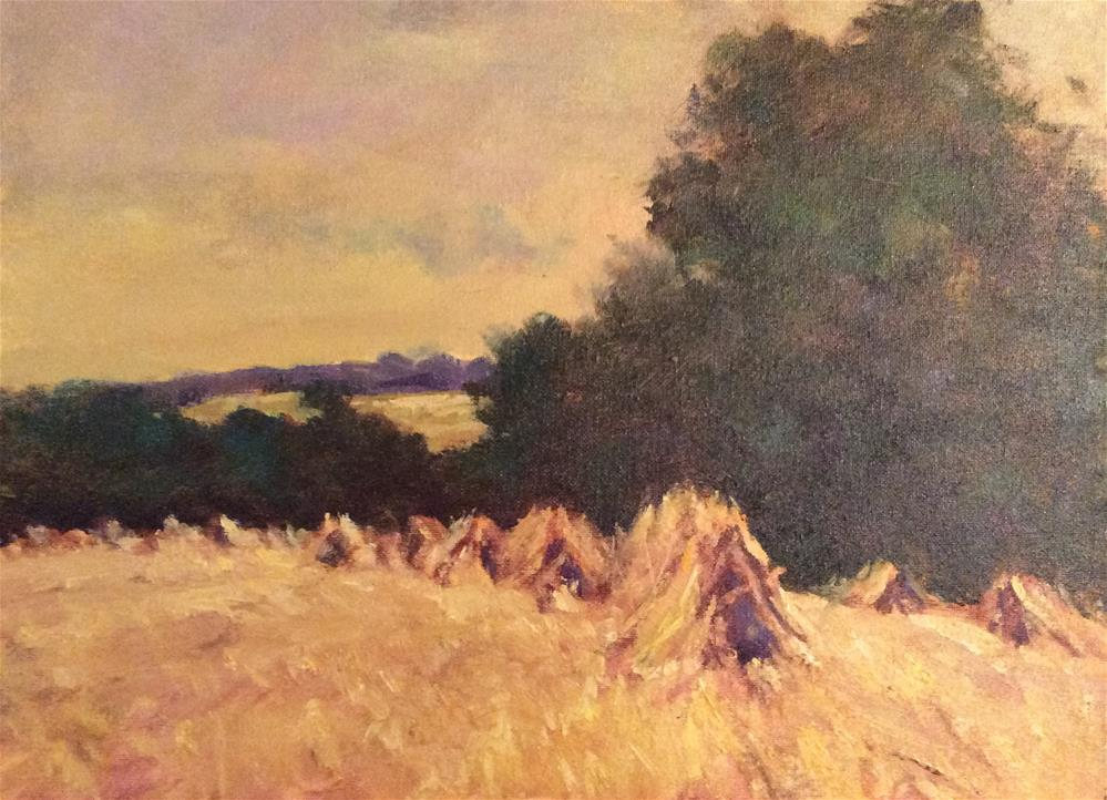 """Summer Harvest"" original fine art by John Shave"