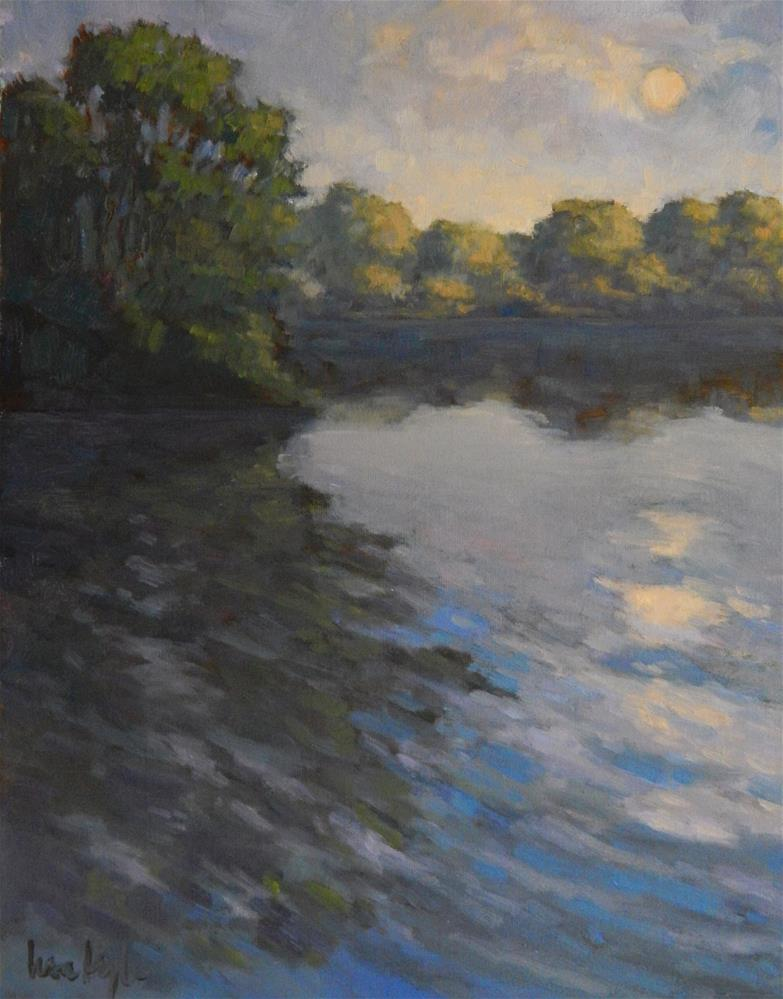 """Evening Ripples"" original fine art by Lisa Kyle"