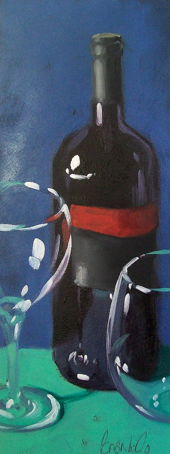 """wino 4"" original fine art by Brandi Bowman"