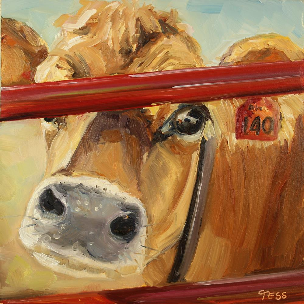 """What's Up- 4 Non Blondes"" original fine art by Tess Lehman"