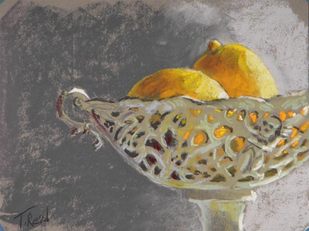 """Lemons"" original fine art by Toby Reid"