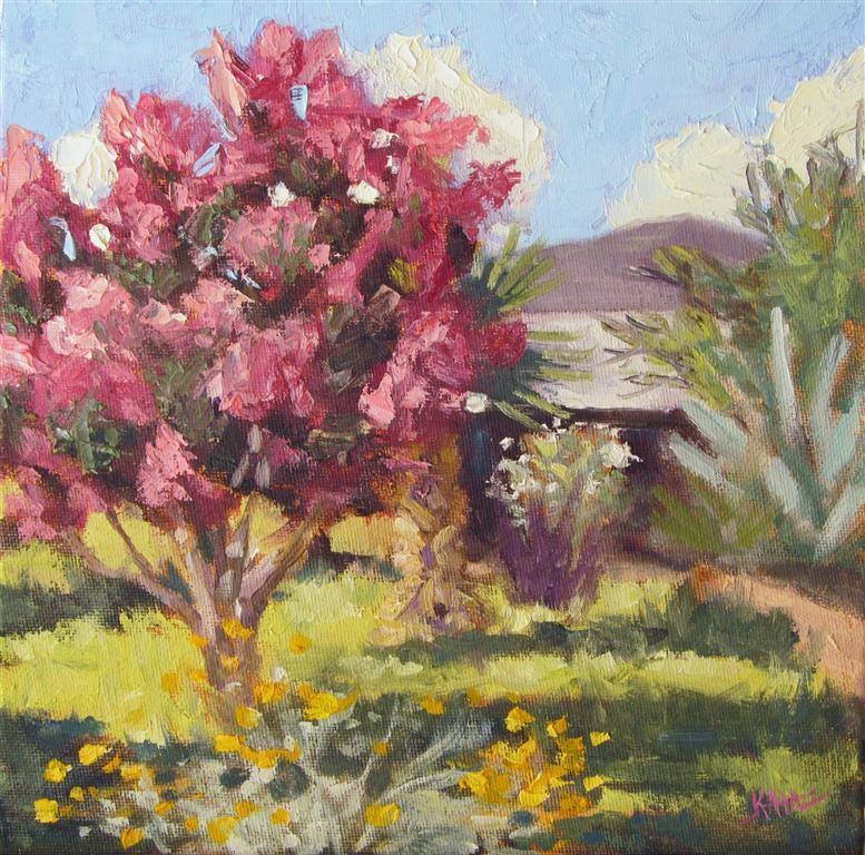 """""""Siren Of Spring"""" original fine art by Kaia Thomas"""