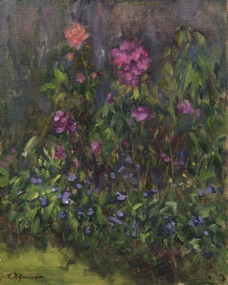 """Floral Study at Meadow Gardens"" original fine art by tony damico"
