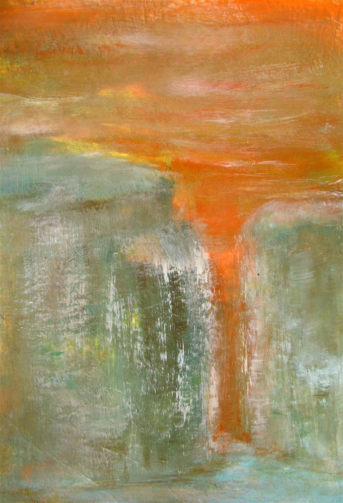 """To The Rocks"" original fine art by Alina Frent"