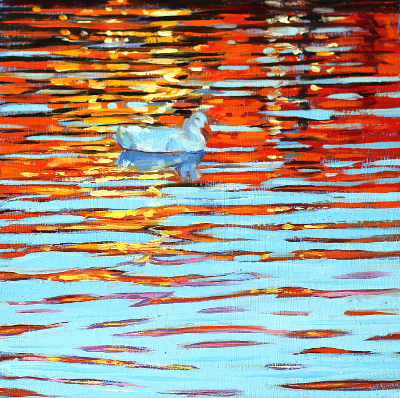 """On Reflection"" original fine art by Ken Devine"