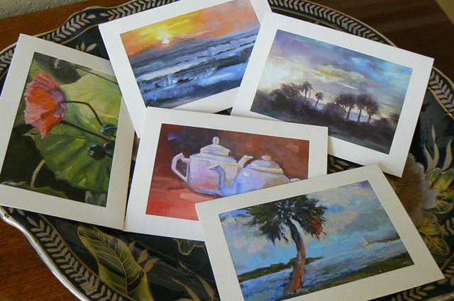 """Cards, cards and more cards"" original fine art by Carol Schiff"