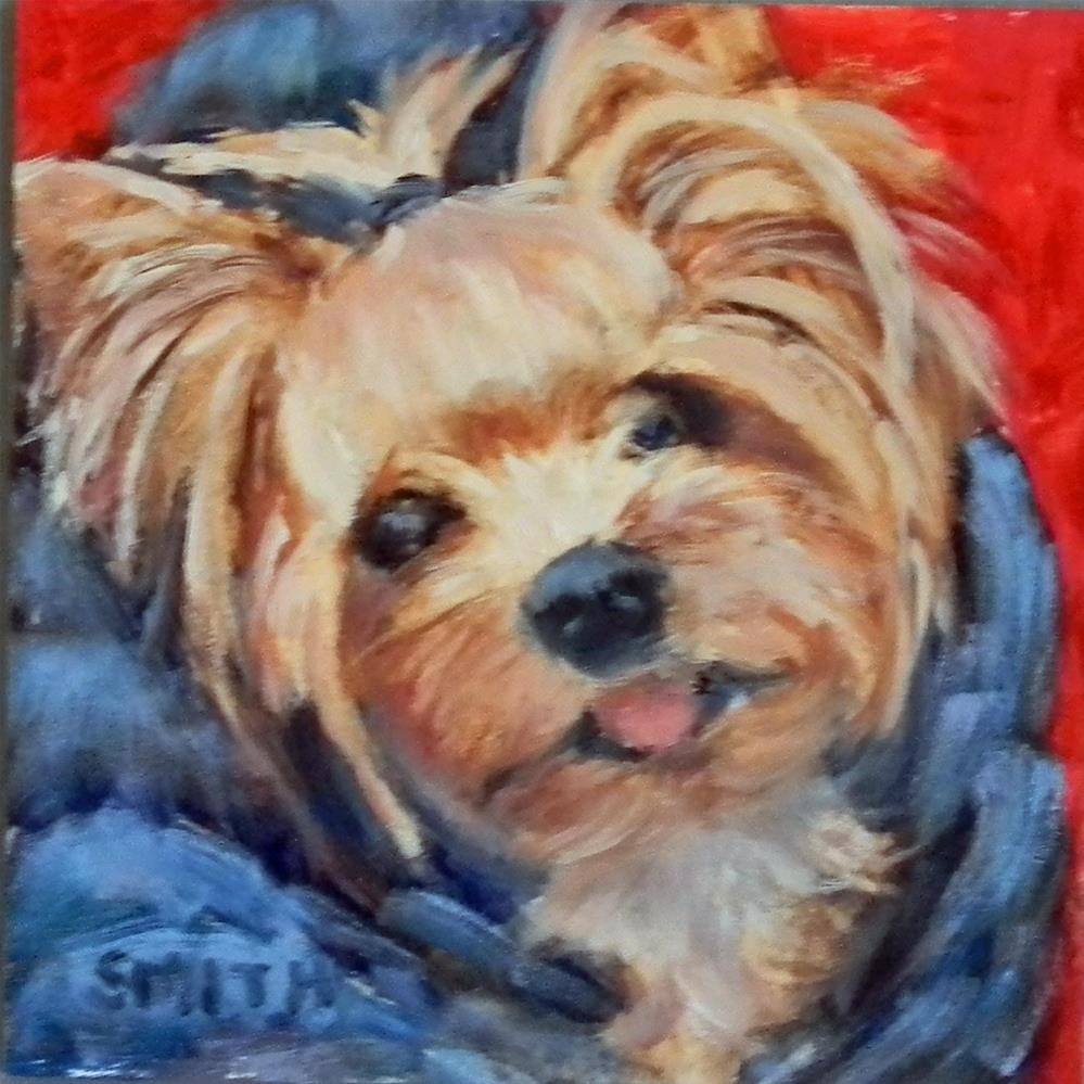 """""""Mia"""" original fine art by Barbie Smith"""