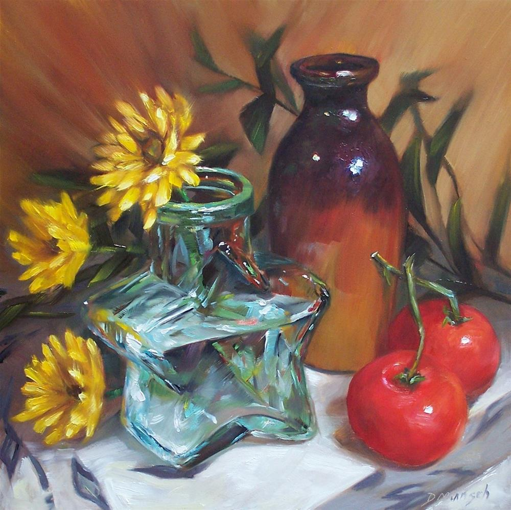 """Star Vase"" original fine art by Donna Munsch"