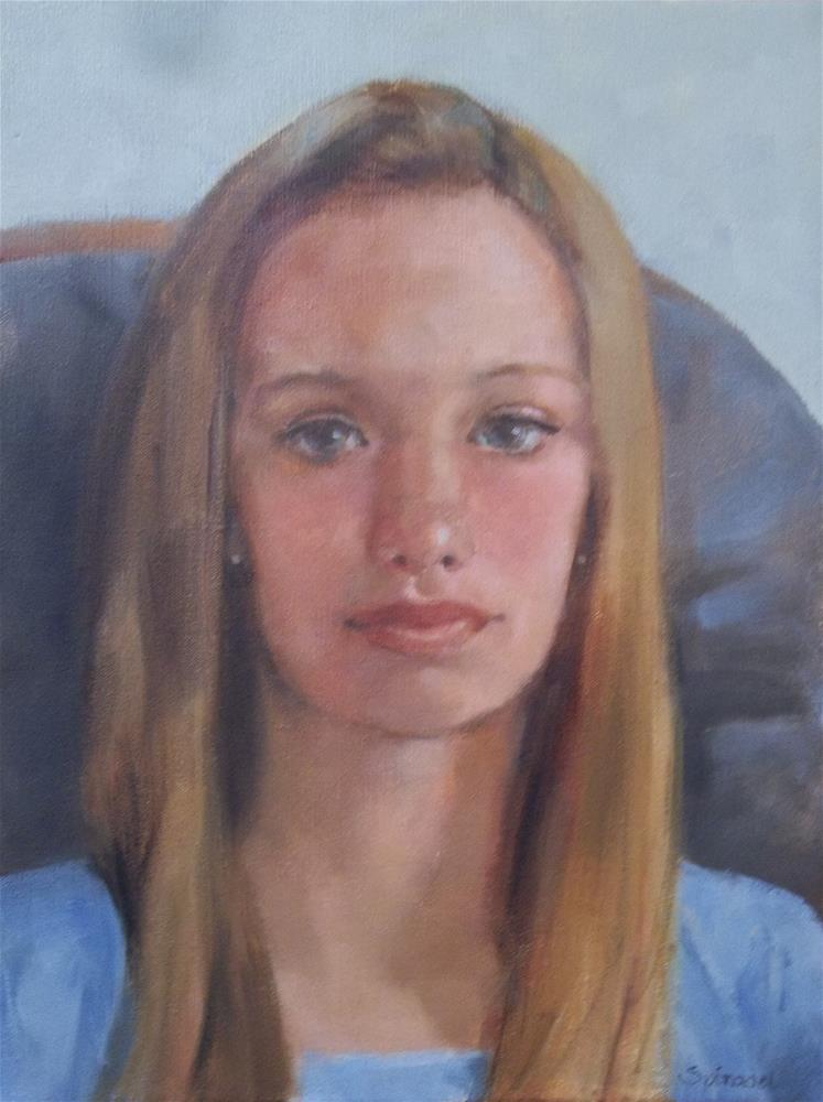 """Portrait Commission"" original fine art by Nancy  Spinadel"