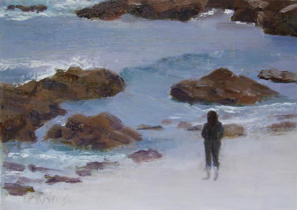"""Asilomar Afternoon"" original fine art by Patricia J. Powers"