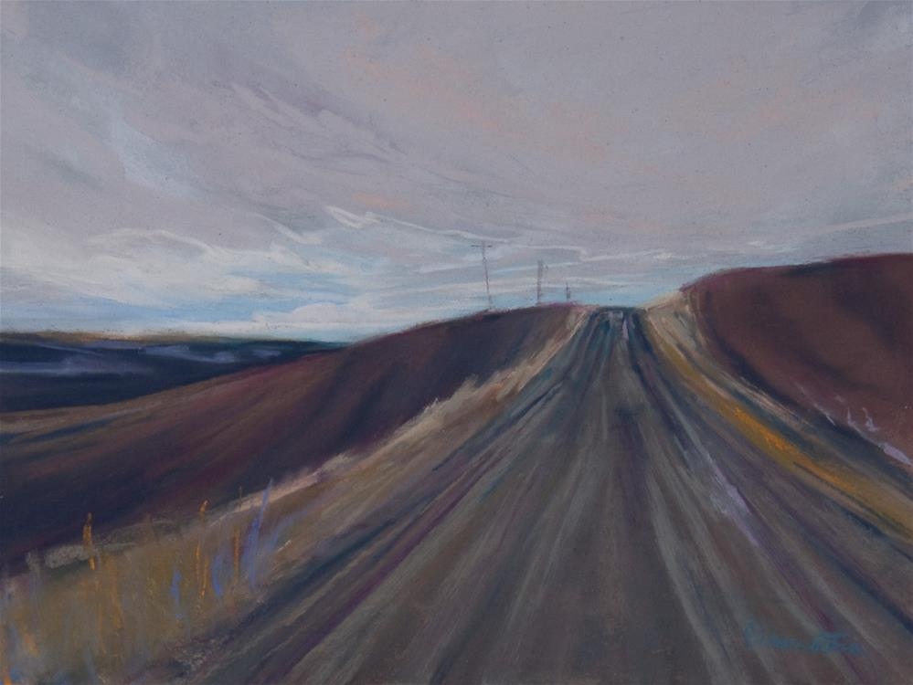 """Road to Somewhere"" original fine art by Sarah Peroutka"