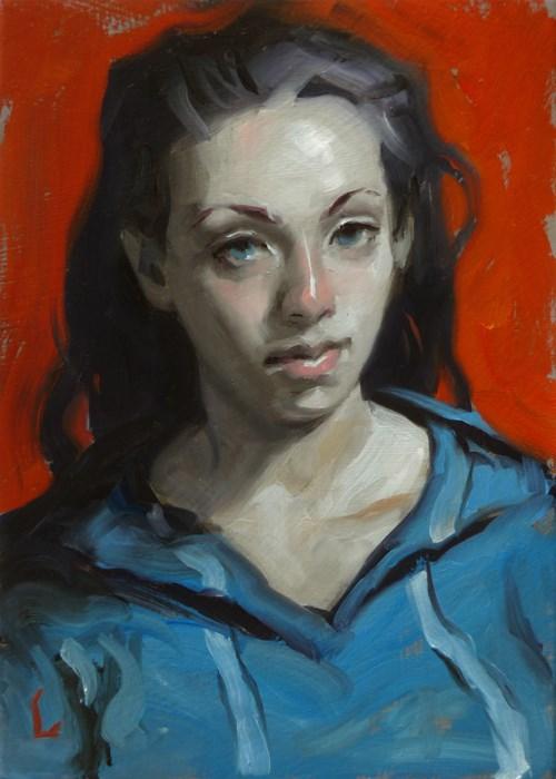 """Tincture"" original fine art by John Larriva"