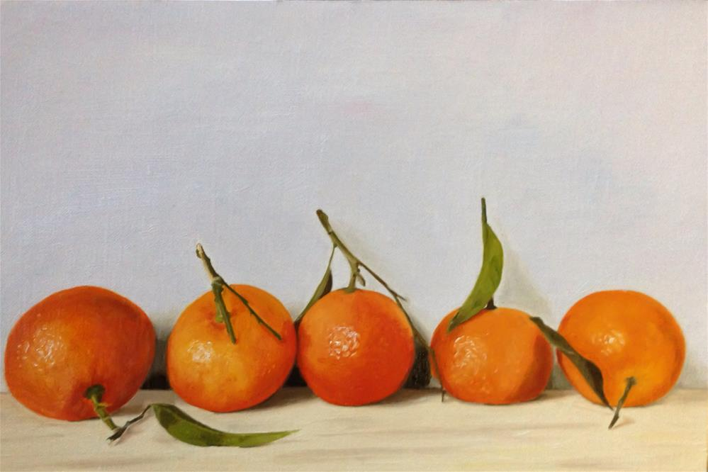 """The Love of Five Oranges"" original fine art by James Coates"