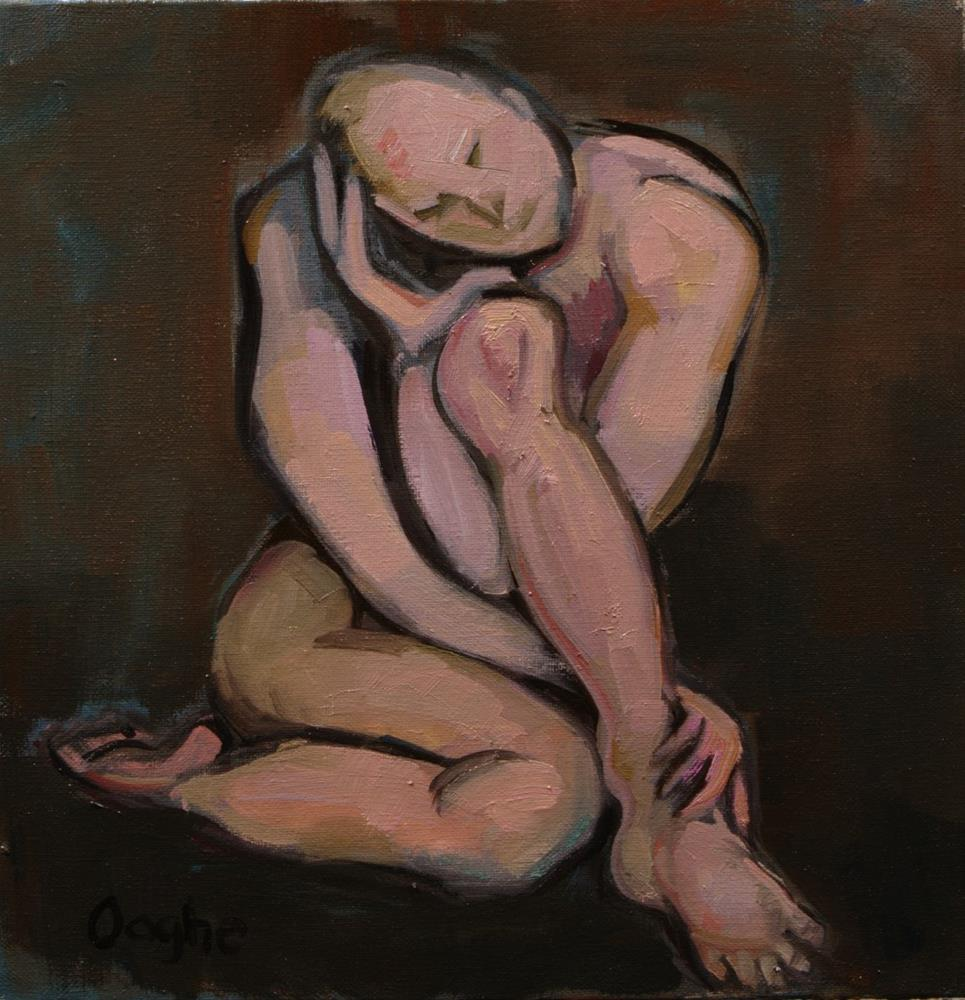 """Knotted Man"" original fine art by Angela Ooghe"