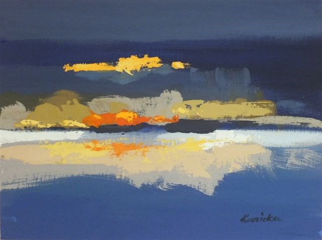 """Landscape 29"" original fine art by Ewa Kunicka"