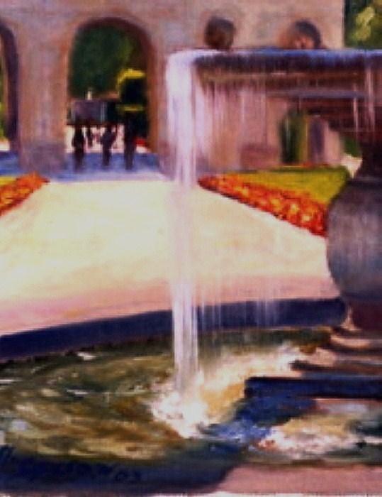 """Two of four"" original fine art by Michael Sason"