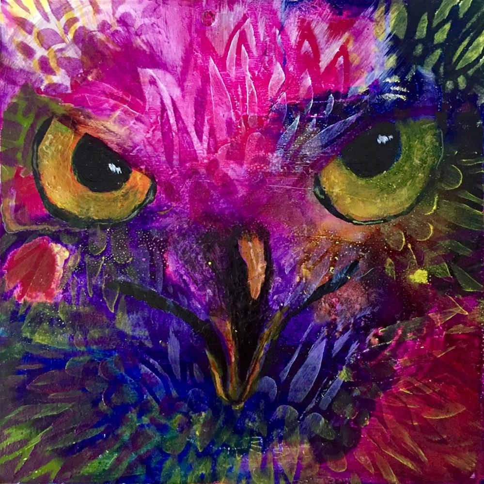 """#38 Always Watching"" original fine art by Silke Powers"