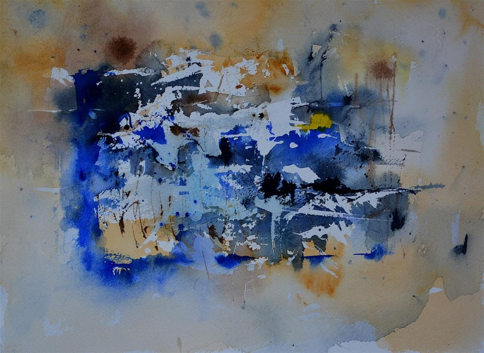 """watercolor 511192"" original fine art by Pol Ledent"