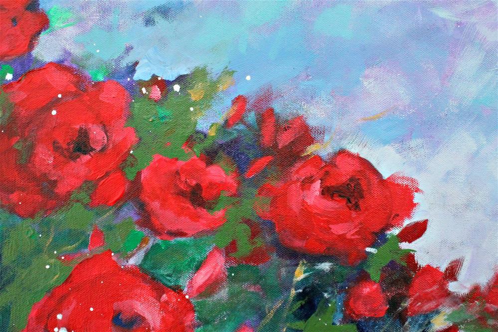 """""""Red Roses"""" original fine art by Kerri Blackman"""