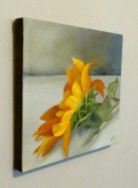 """Sunflower"" original fine art by ~ces~ Christine E. S. Code"