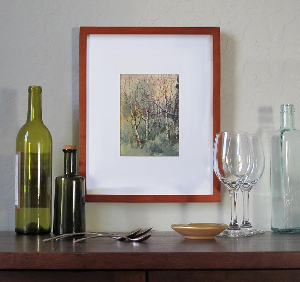 """Almost Spring"" original fine art by Linda Henry"