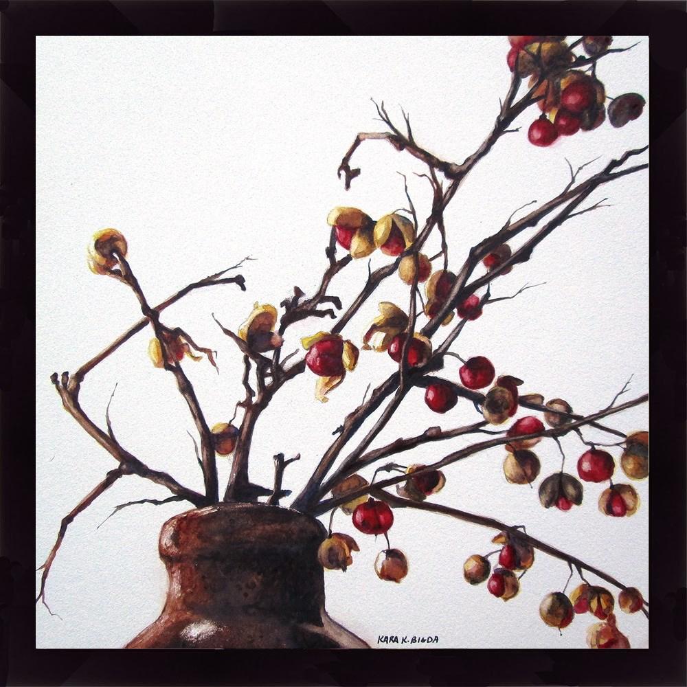 """Bittersweet"" original fine art by Kara K. Bigda"