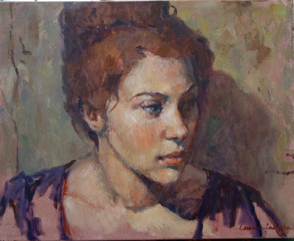 """Serene"" original fine art by Lorraine Lewitzka"