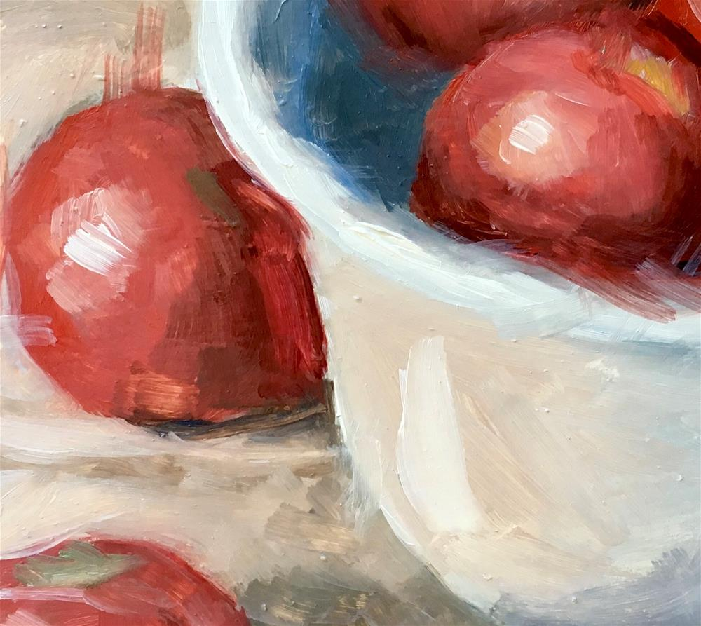 """""""080 Tomatoes"""" original fine art by Fred Bell"""