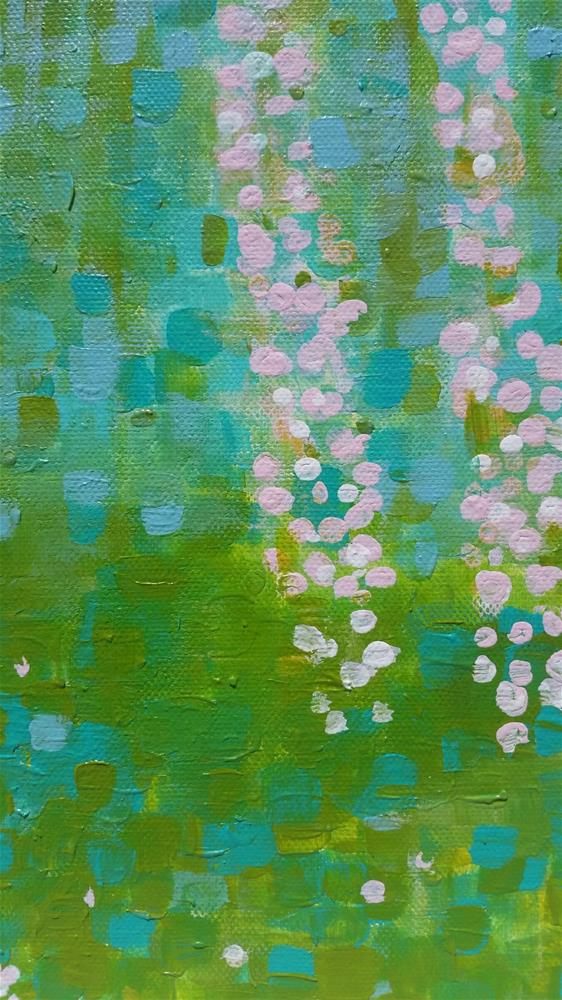 """Cherry Blossoms DC"" original fine art by Christy Tremblay"