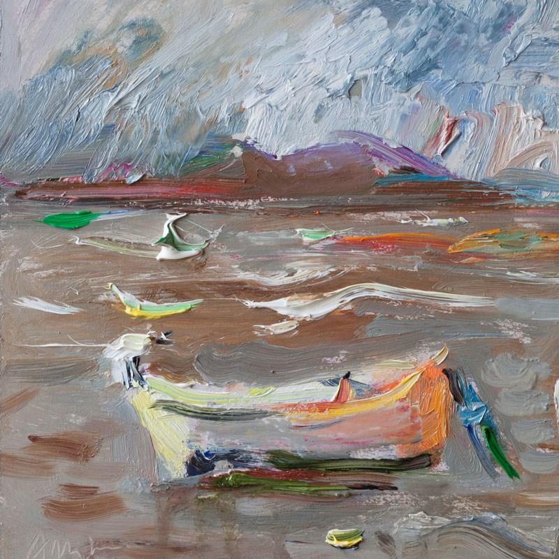 """Two Boats"" original fine art by Anna  Fine Art"