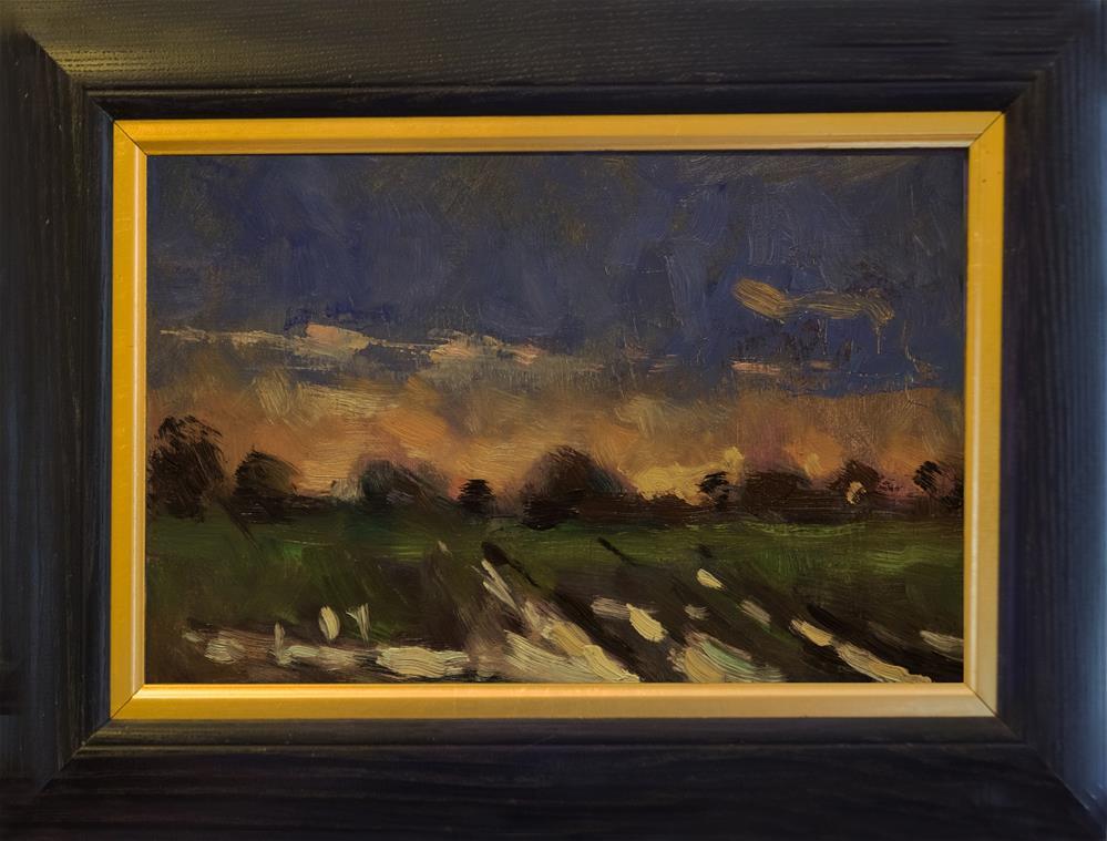 """Flooded Field"" original fine art by Andre Pallat"