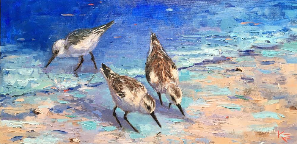 """Salty Senoritas"" original fine art by Krista Eaton"