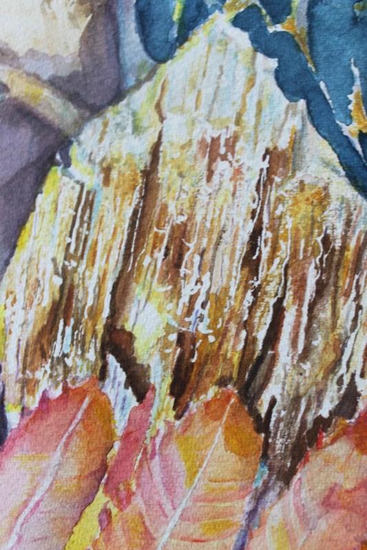 """Autumn Magic"" original fine art by Christiane Kingsley"