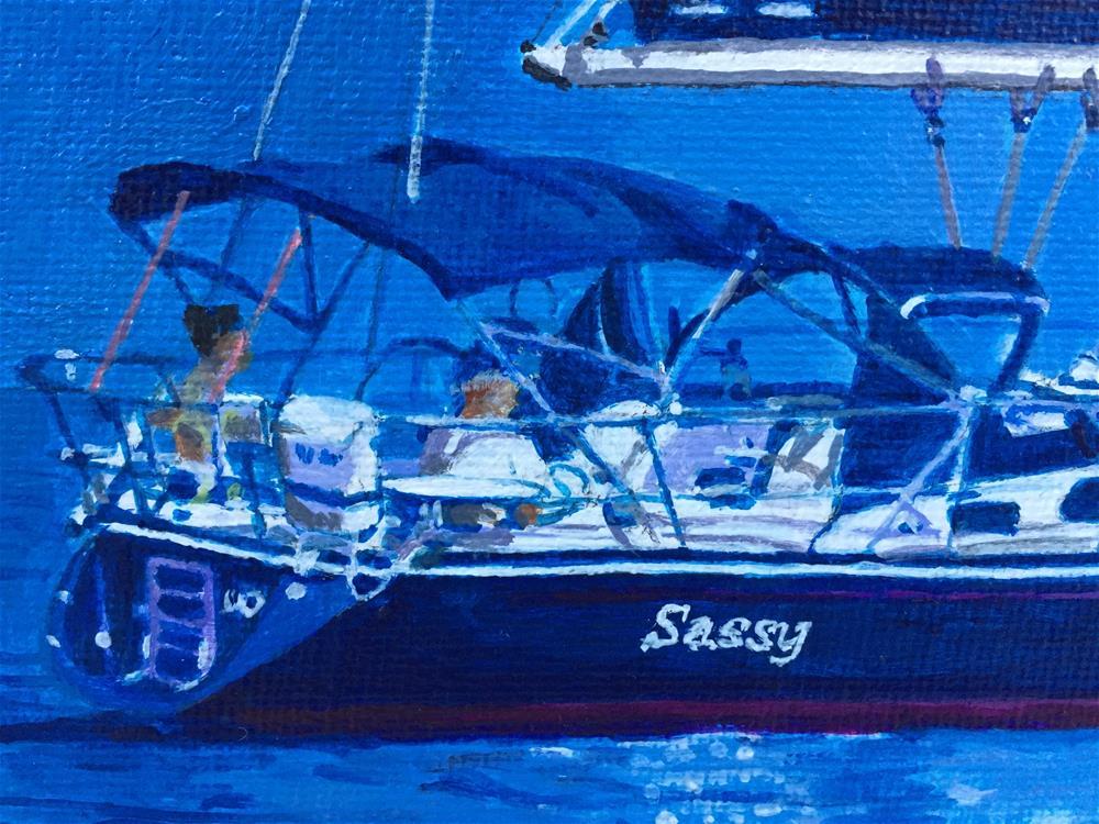 """""""Sassy"""" original fine art by Garima Heath"""