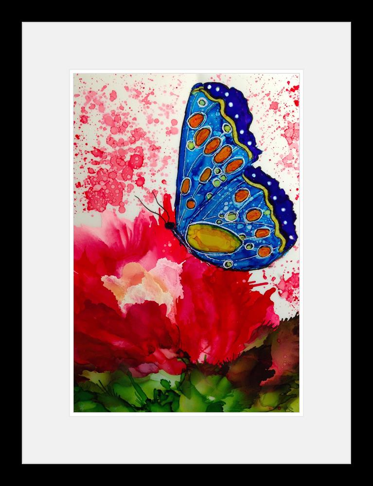 """Butterfly Garden XI"" original fine art by Korinne Carpino"
