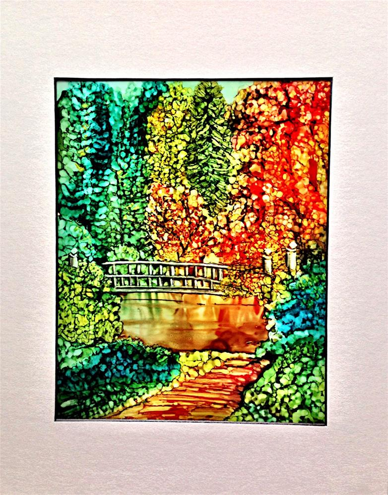"""Autumn I"" original fine art by Korinne Carpino"