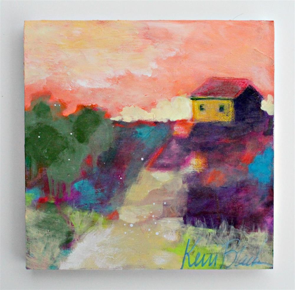 """Find Your Way Home "" original fine art by Kerri Blackman"