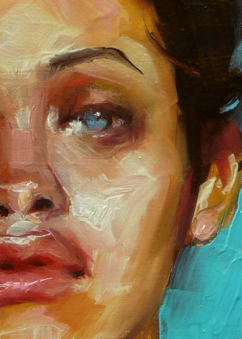 """Caribbean Blue"" original fine art by John Larriva"